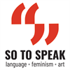 So to Speak's logo