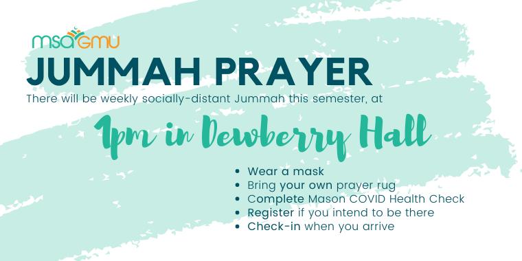 Jummah Prayer (10/2)