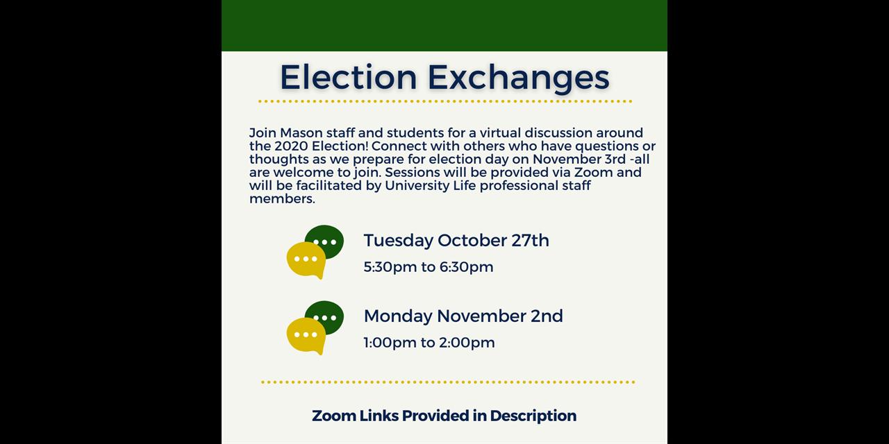 Election Exchange Event Logo