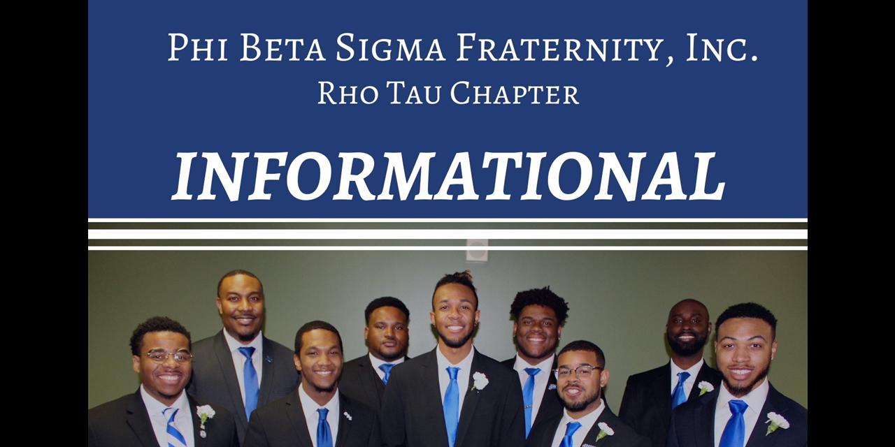 Phi Beta Sigma Fraternity, Inc. Informational