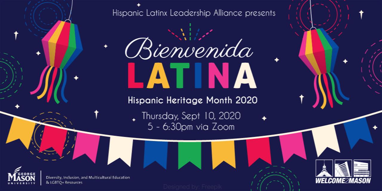 Bienvenida Latina 2020 Event Logo