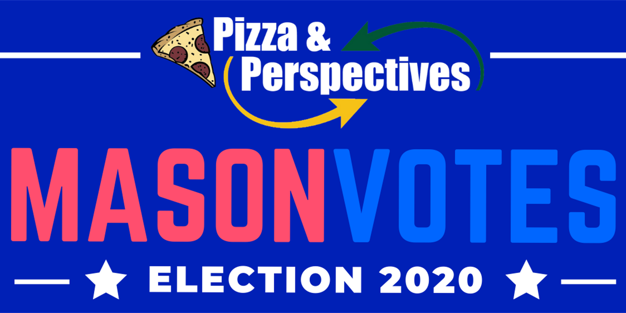 MasonVotes 2020: Trust, Expectation, Behaviors, and the Factors that Influence Voting Event Logo
