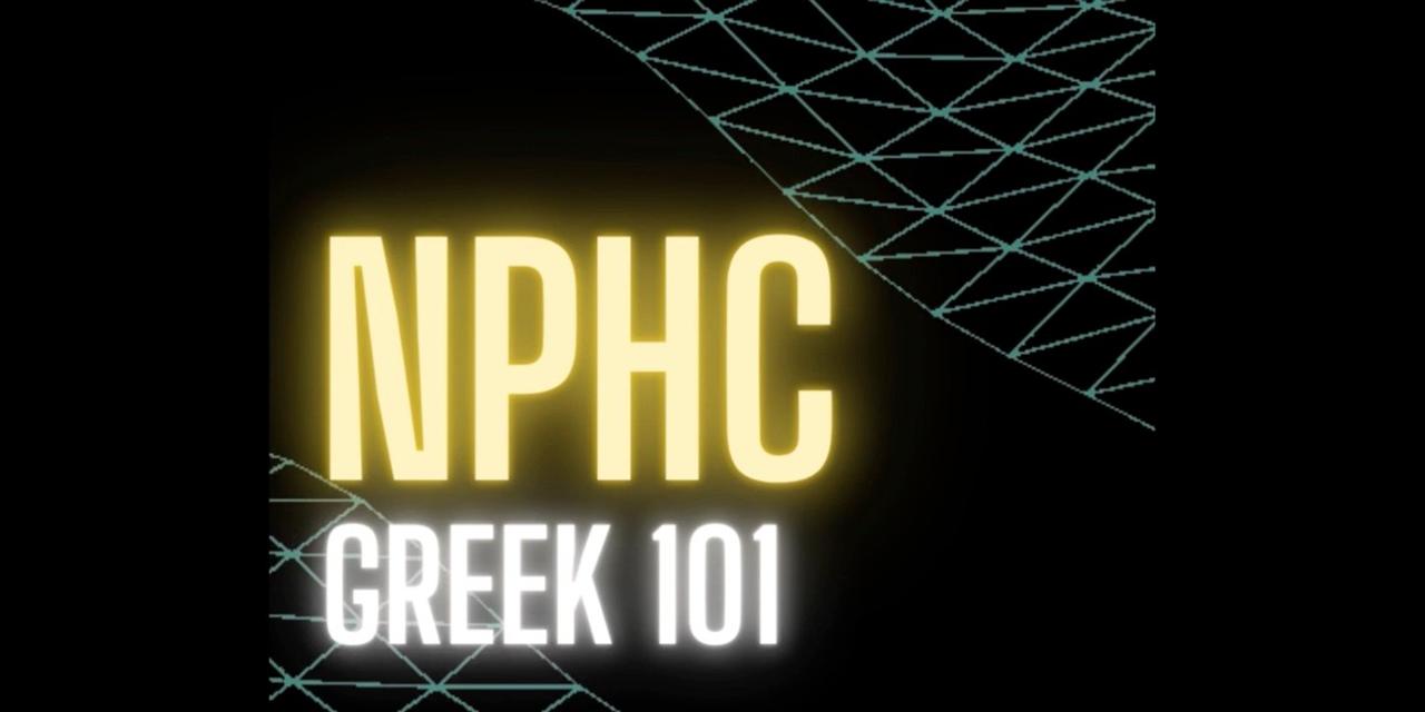 NPHC Greek 101 Event Logo