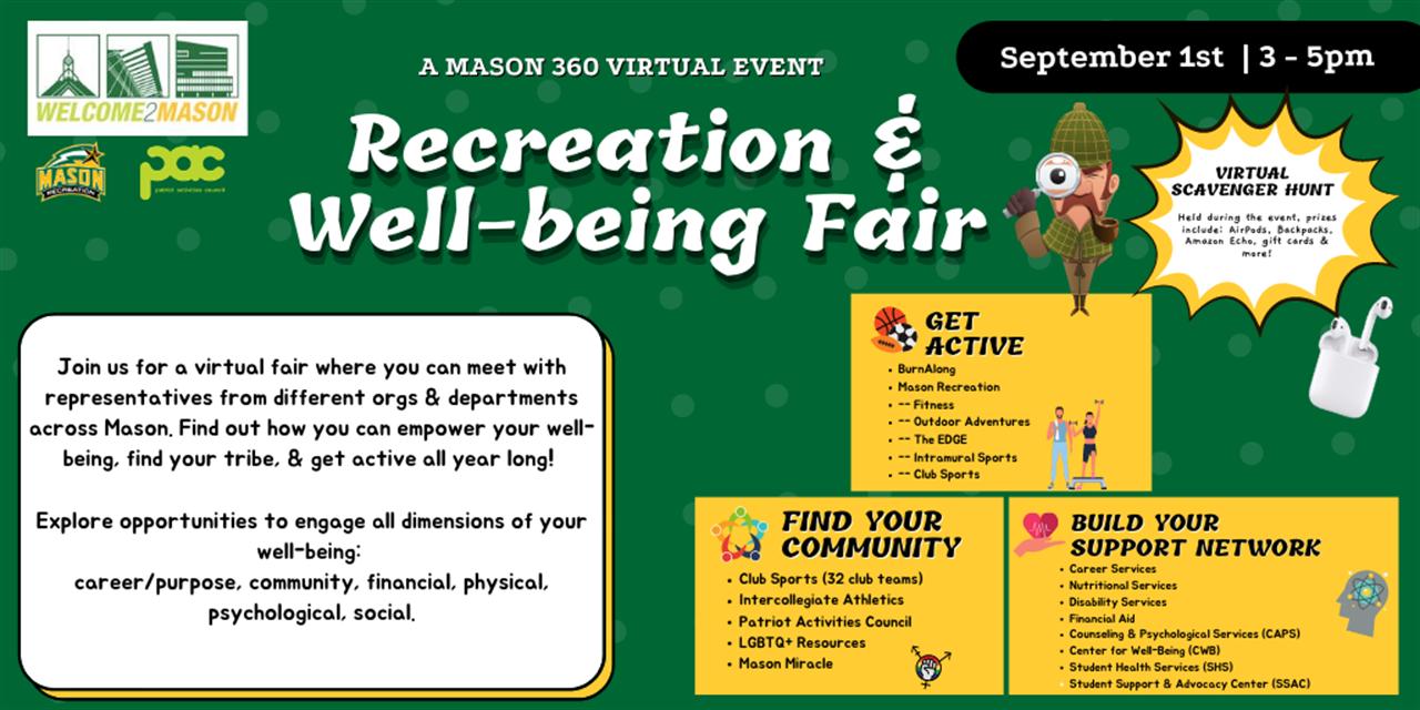 Recreation & Well-Being Fair