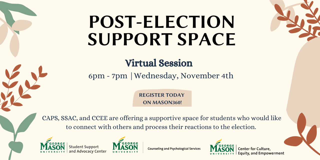 Post-Election Support Space Event Logo