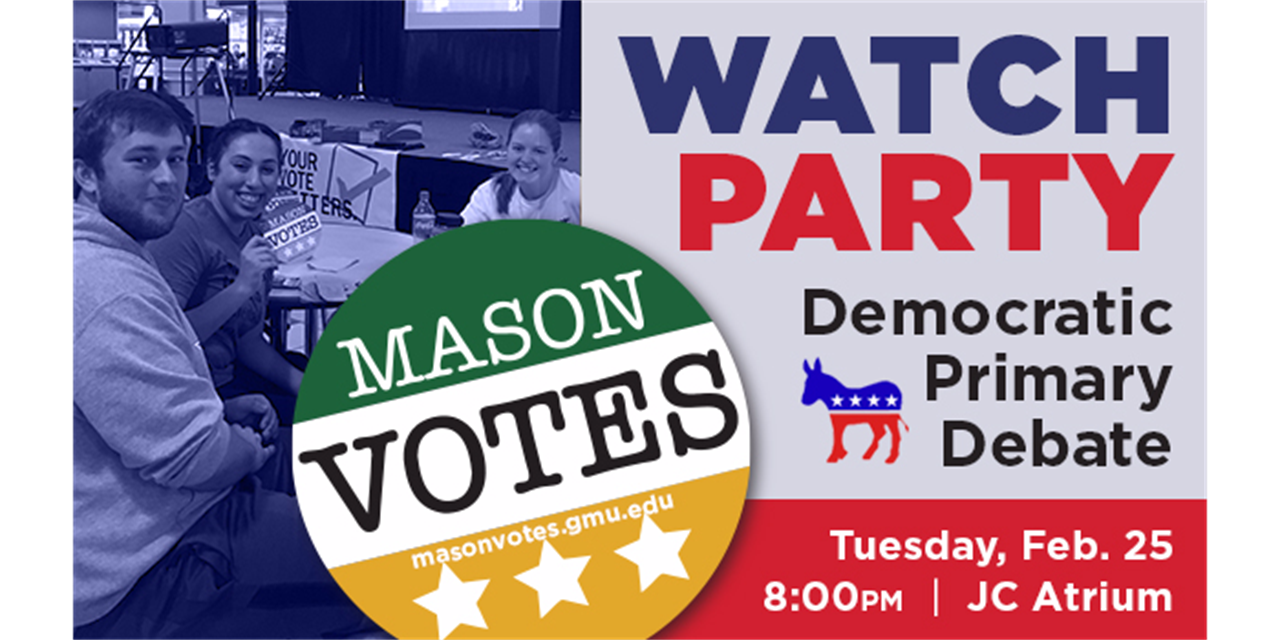 Primary Debate Watch Party Event Logo