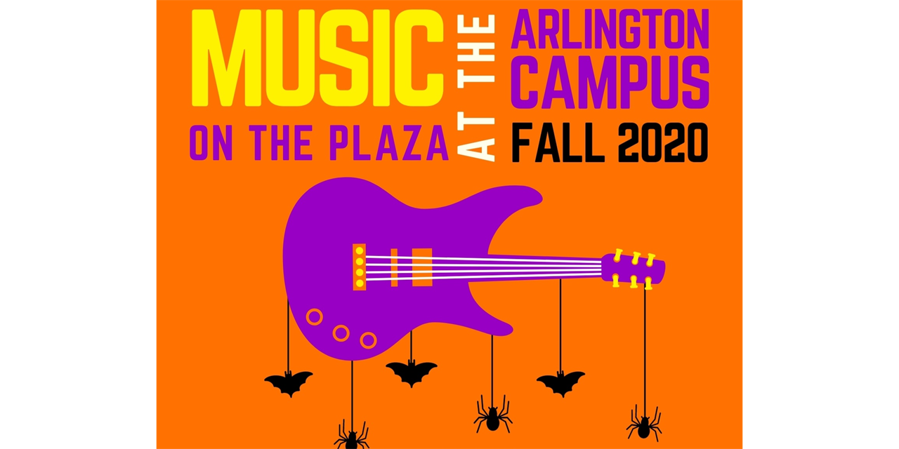 Music on the Plaza at the Arlington Campus Event Logo