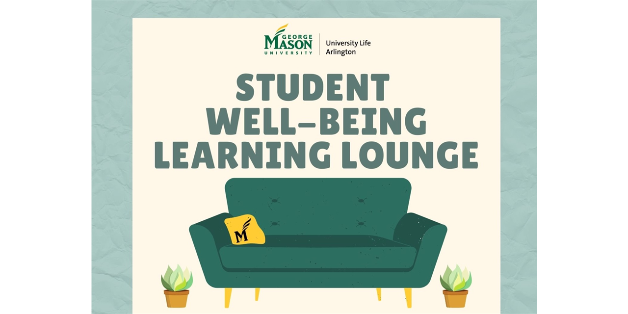 Student Well-Being Learning Lounge Event Logo