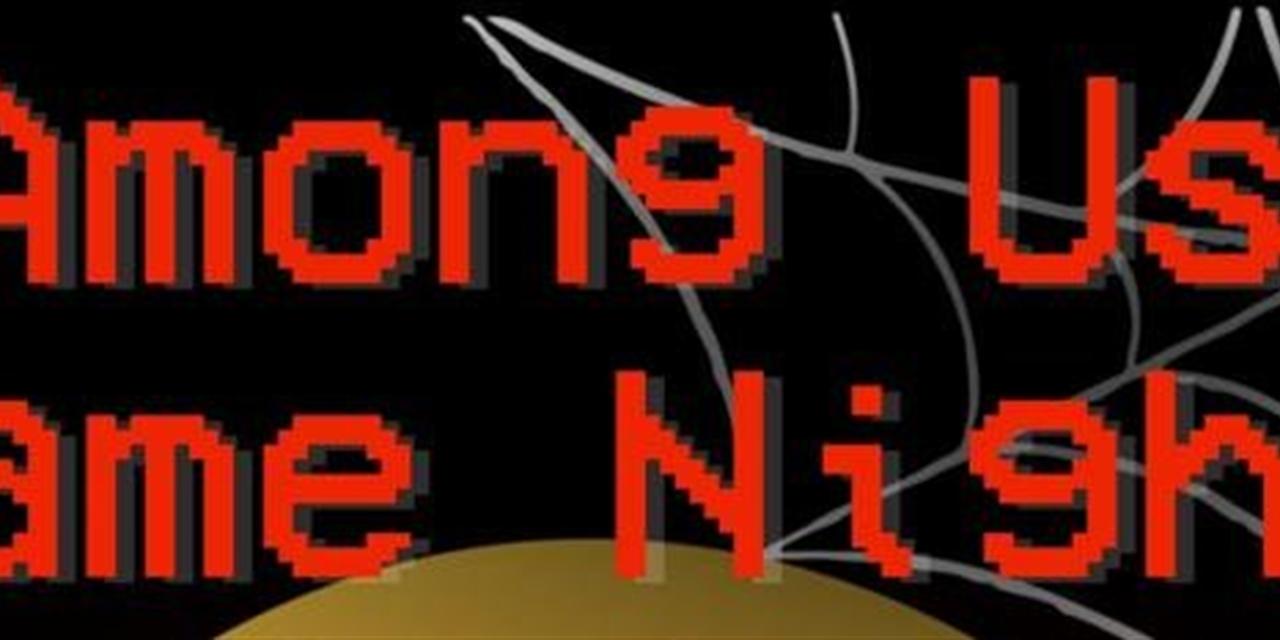 Among Us Game Night Event Logo