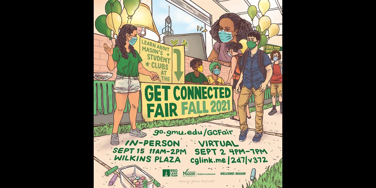VIRTUAL Fall Get Connected Fair Event Logo