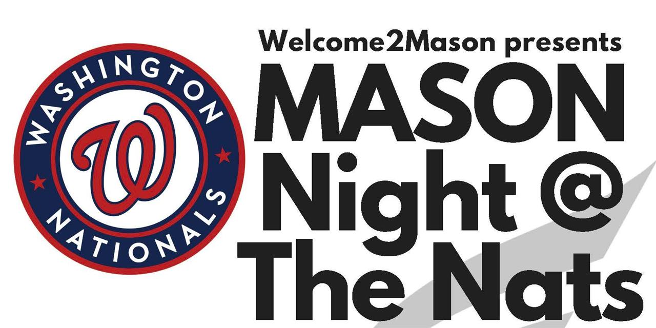 Mason Night at the Nationals Event Logo