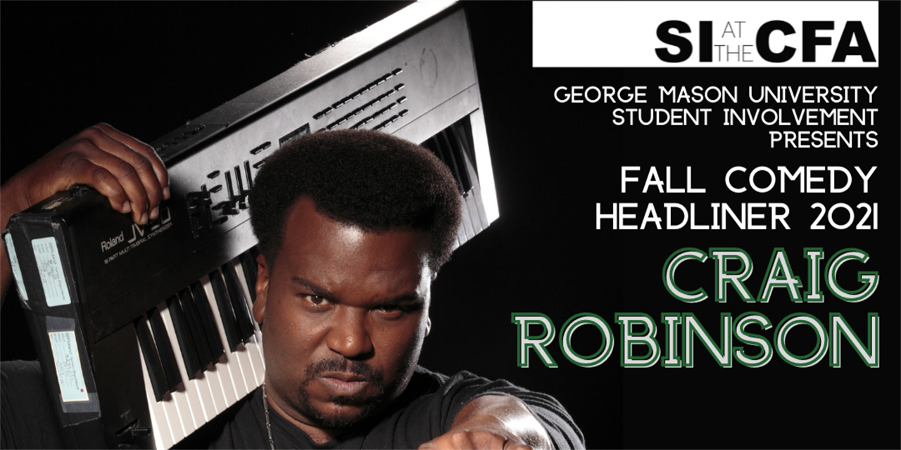 Fall Comedy Headliner CRAIG ROBINSON! Event Logo