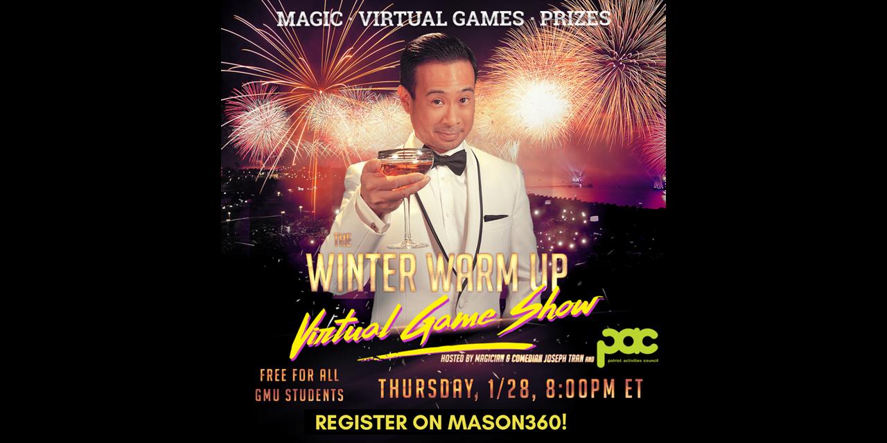 Winter Warm Up: Virtual Gameshow! Event Logo