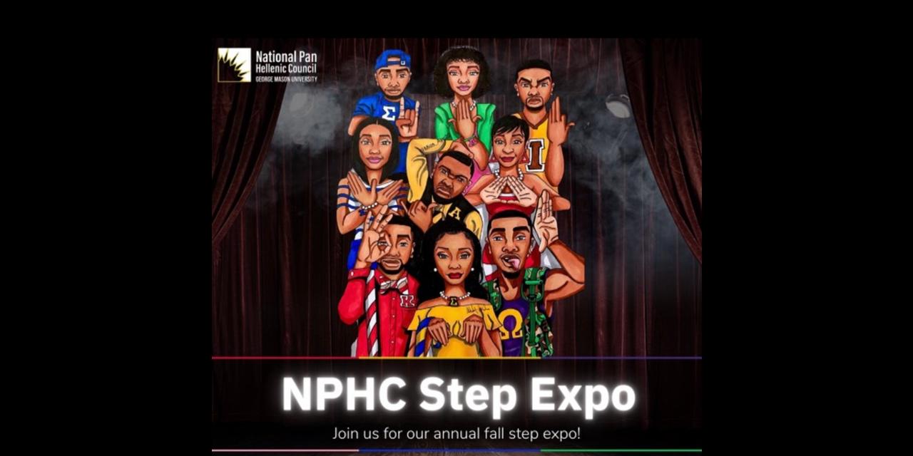 Fall 2021 NPHC Step Expo Event Logo