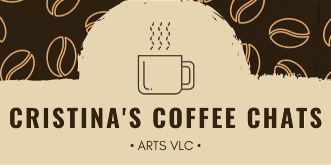 Cristina's Coffee Chats Event Logo