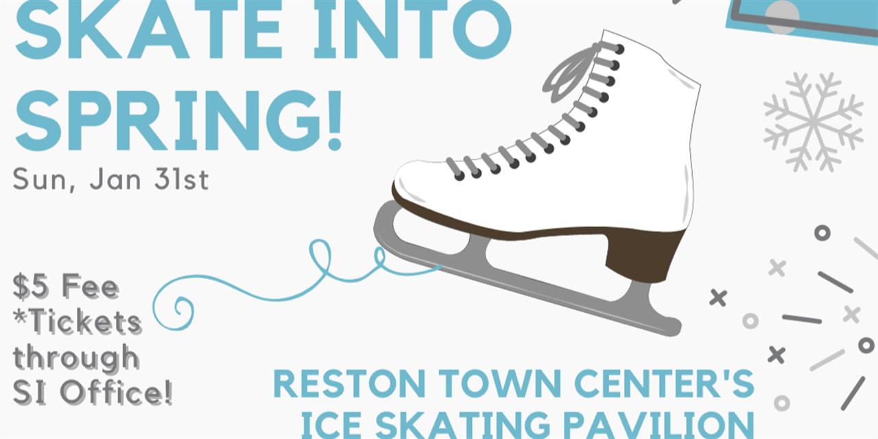 Winter Welcome: Skate Into Spring Event Logo
