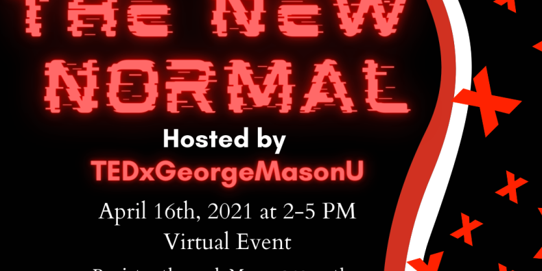 TEDx Conference 2021: The New Normal Event Logo