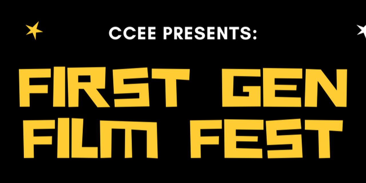 First Gen Film Fest Event Logo