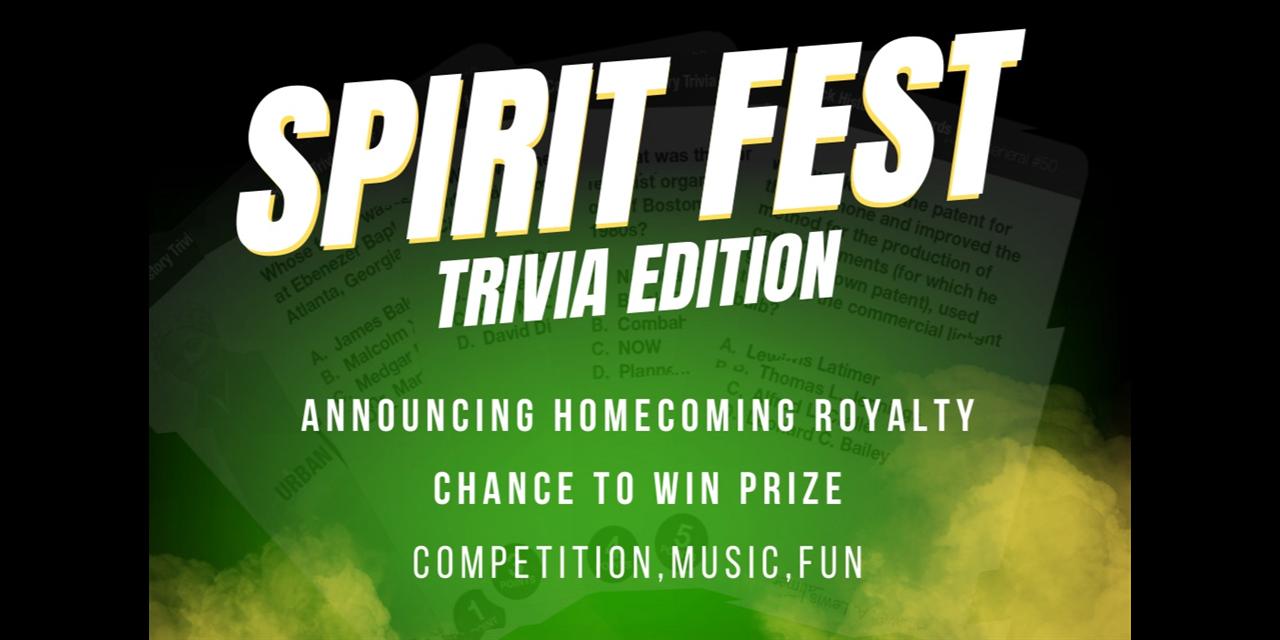 Spirit Fest: Trivia Edition Event Logo
