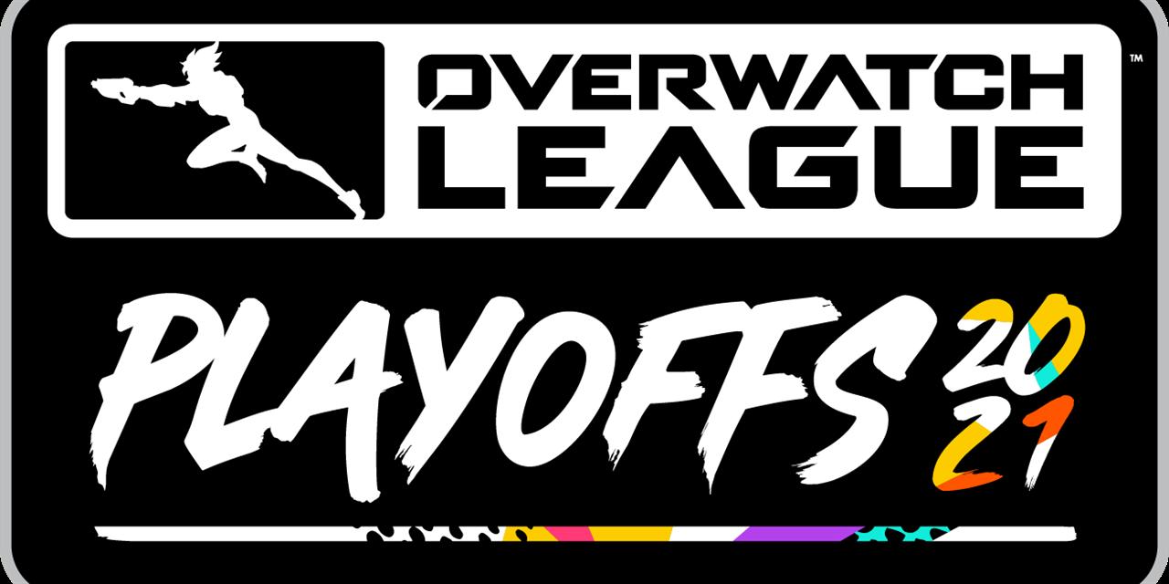 Overwatch League Quarter Finals watch party Event Logo