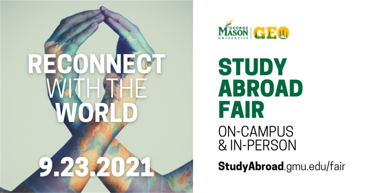 Mason Study Abroad Fair - Reconnect with the World (Study Abroad Week Event) Event Logo