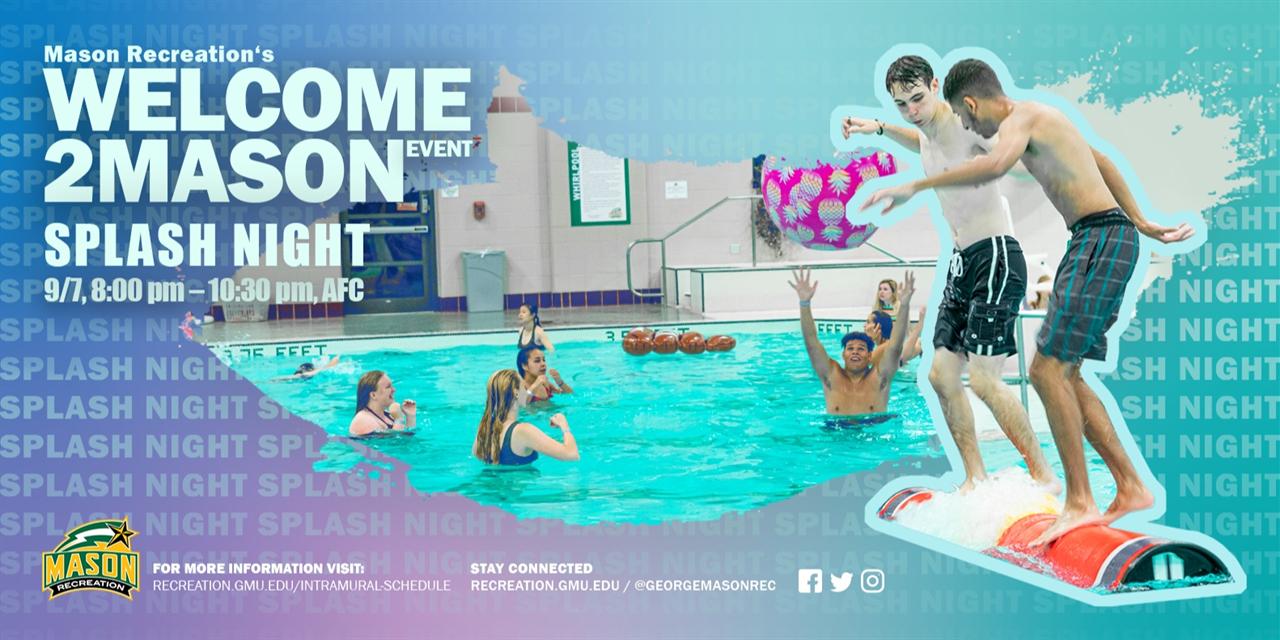 Splash Night Event Logo
