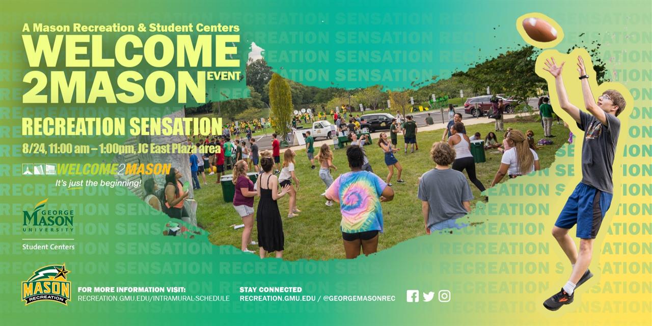 Recreation Sensation Event Logo