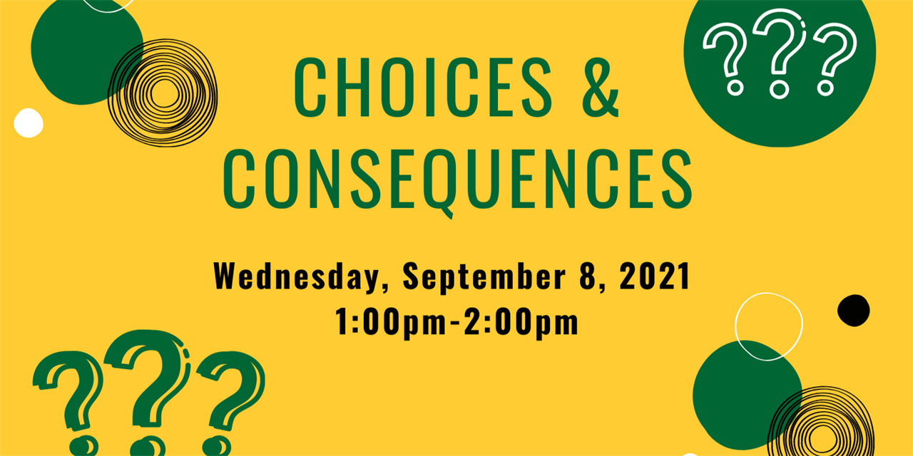 Choice and Consequences Game Show Event Logo