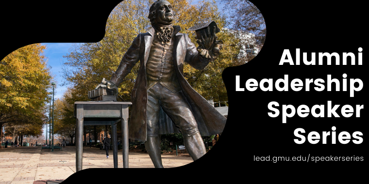 Alumni Leadership Speaker Series: February 22 Event Logo