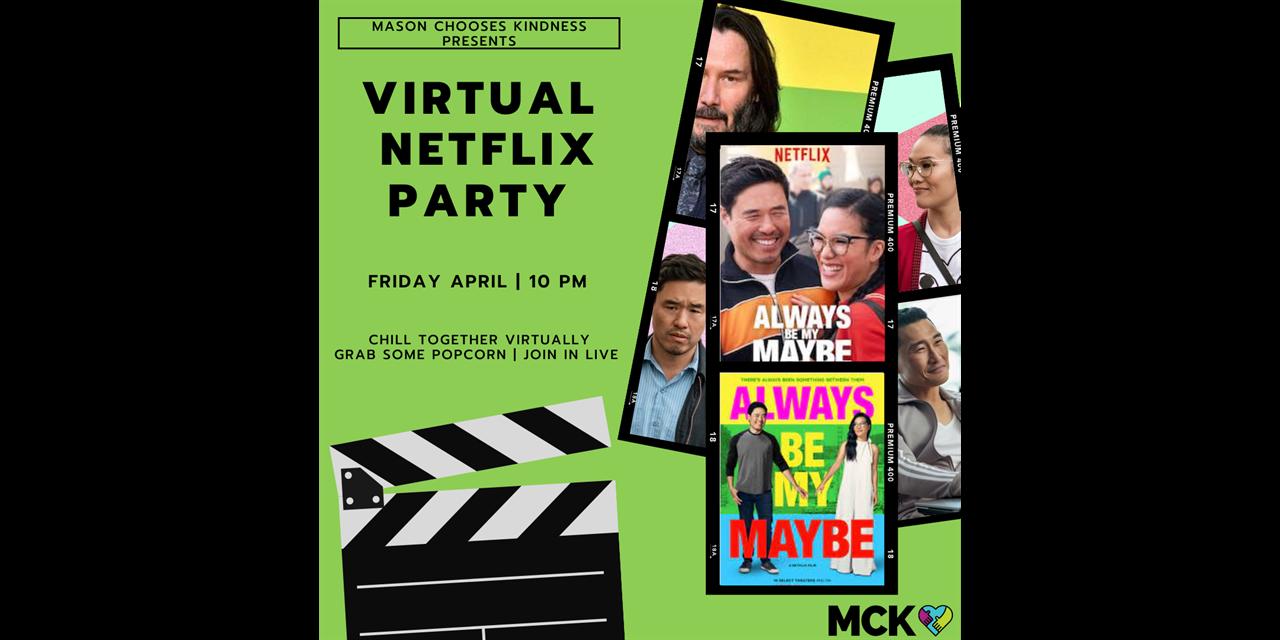 CANCELED: Virtual Netflix Party Event Logo