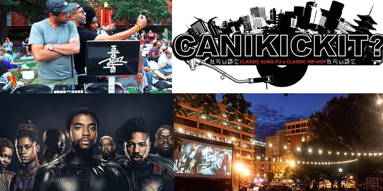 Shaolin Jazz: Can I Kick It?: Black Panther Event Logo