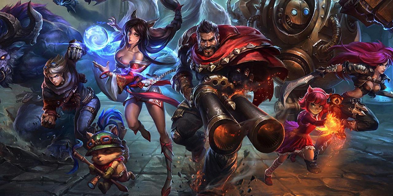 League of Legends Trivia Event Logo
