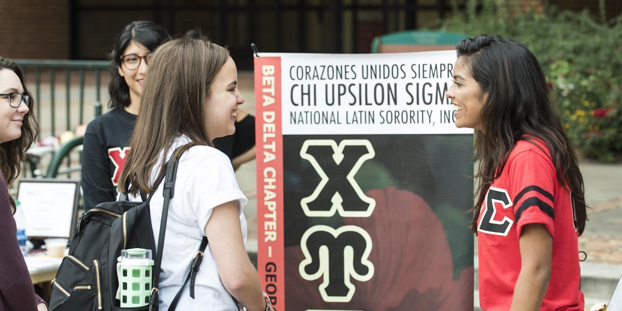 Bienvenida Latina Event Logo