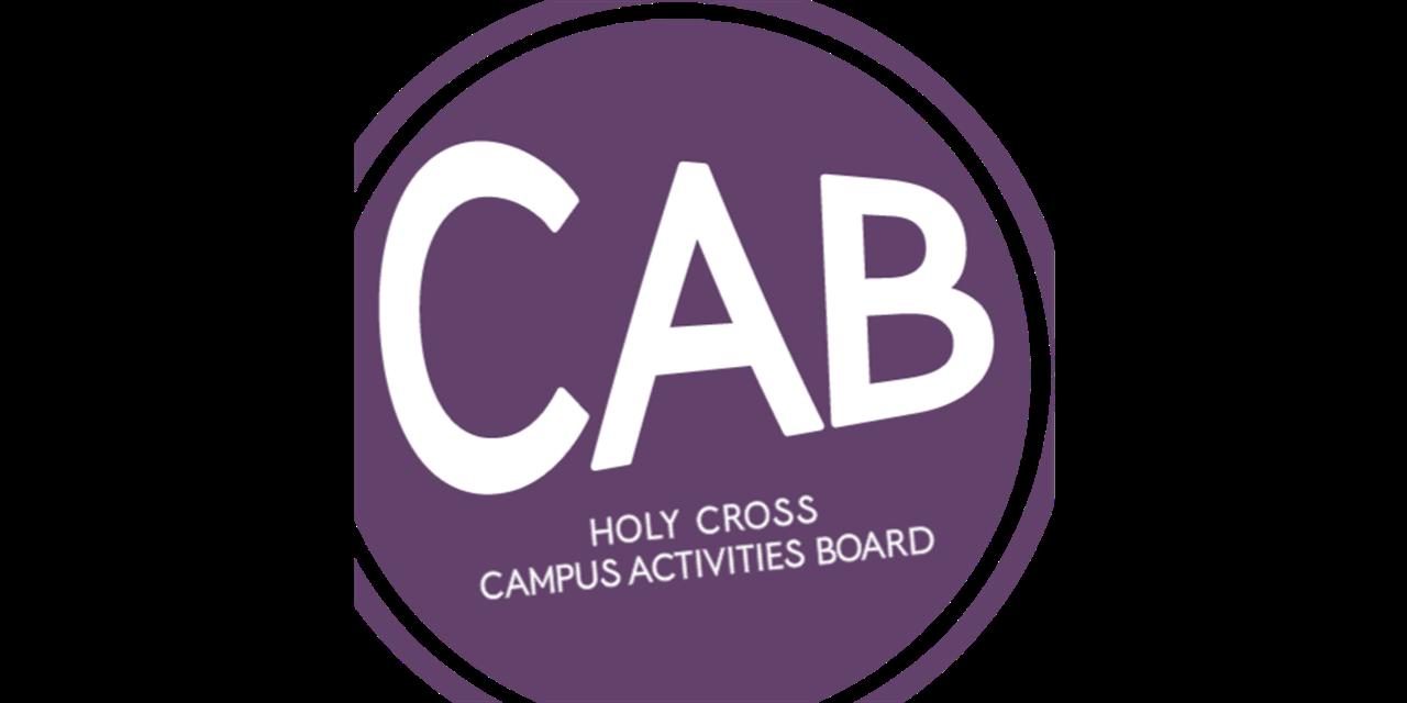 CAB Friday Night Programming Event Logo