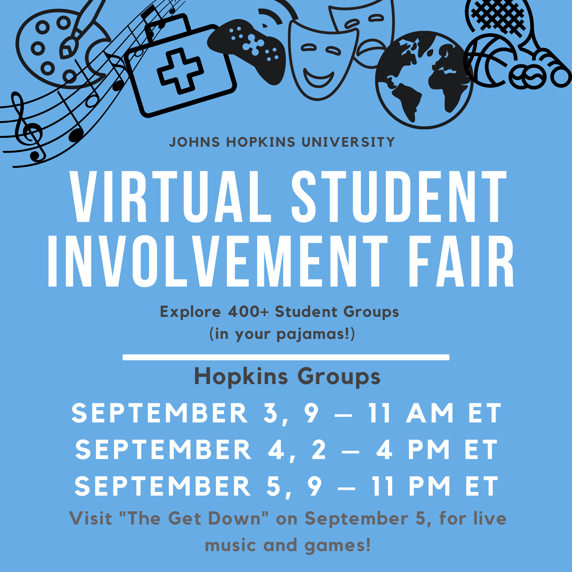 Student Involvement Fair 2020