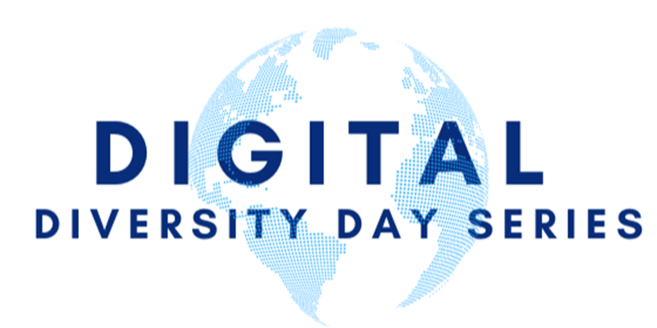 Digital Diversity Day Series- Adopting an Anti-Racist Lens in Fostering a Racially Inclusive Campus Climate- Dr. Jamie Riley (CLASP) Event Logo