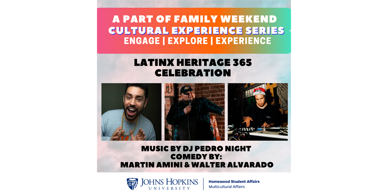 Heritage 365 Cultural Experience Series- Latinx Heritage Celebration (Family Weekend) Event Logo