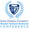 Johns Hopkins University Model United Nations Conference's logo