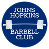 Johns Hopkins Barbell Club's logo