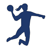 Johns Hopkins Women's Club Team Handball's logo