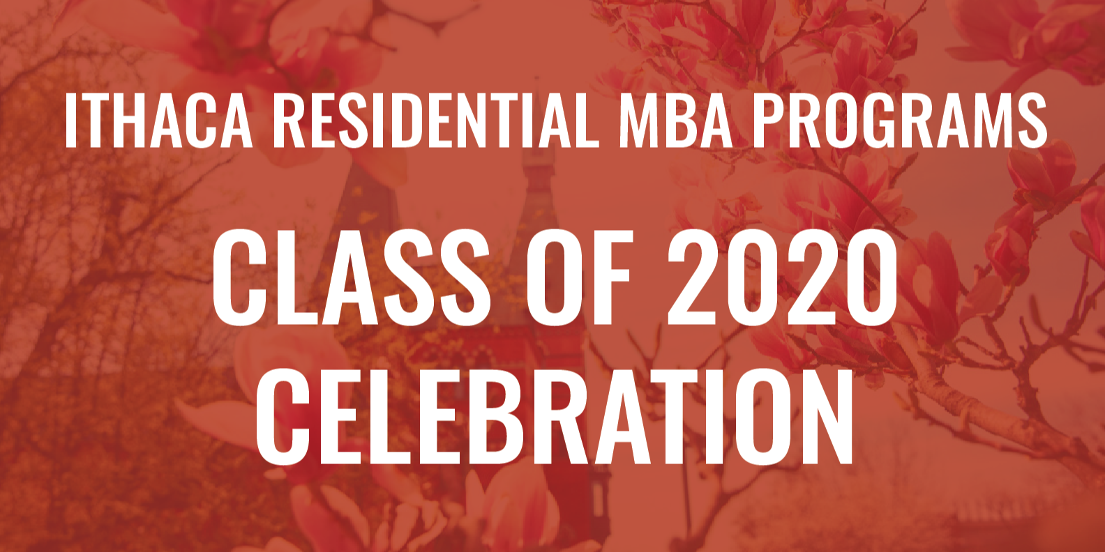 Ithaca Residential MBA Programs: A Virtual Celebration of the Class of 2020