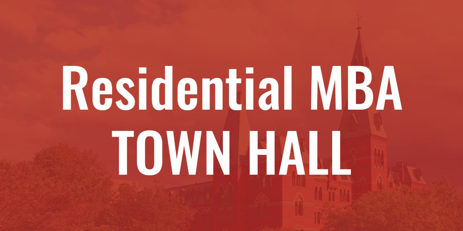VIRTUAL Johnson Residential Student Town Hall