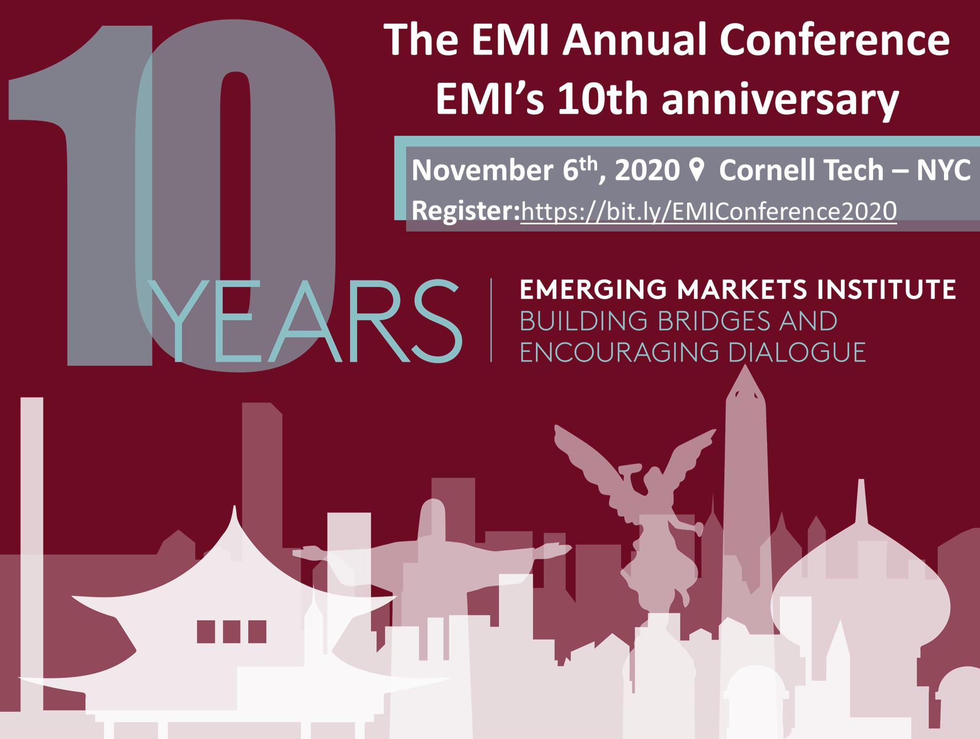 The EMI Annual Conference and  EMI 10th Anniversary Celebration