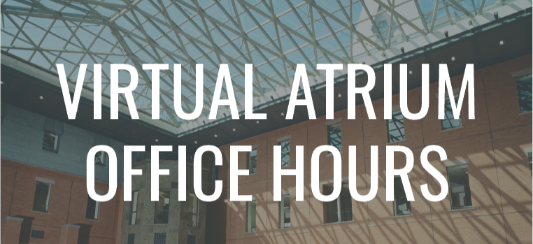 Student Services Virtual Atrium Office Hours