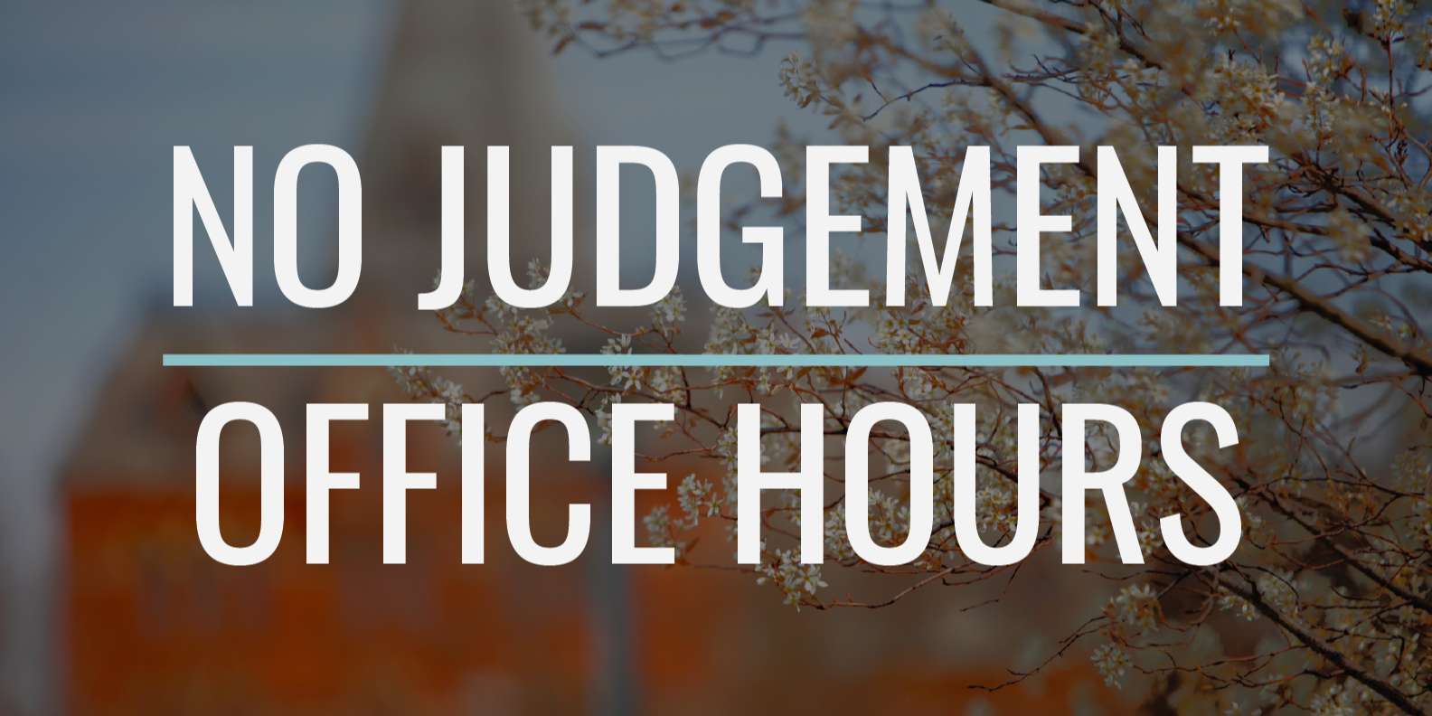 No Judgement Office Hours hosted by Ingrid Jensen