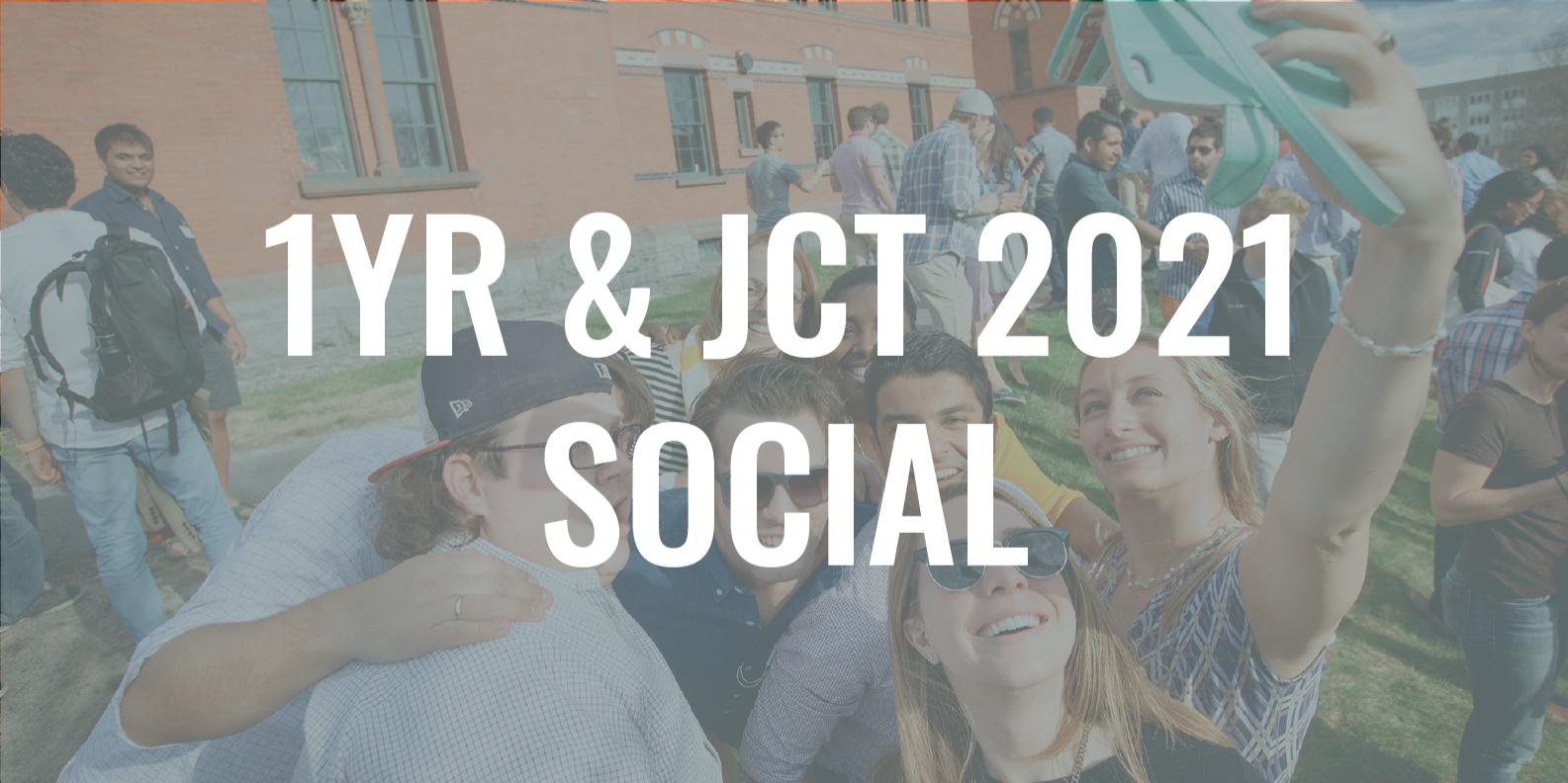 1YR/JCT MBA 2021: Dean's Social