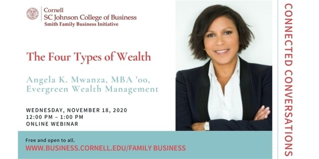 Connected Conversations: The Four Types of Wealth Event Logo