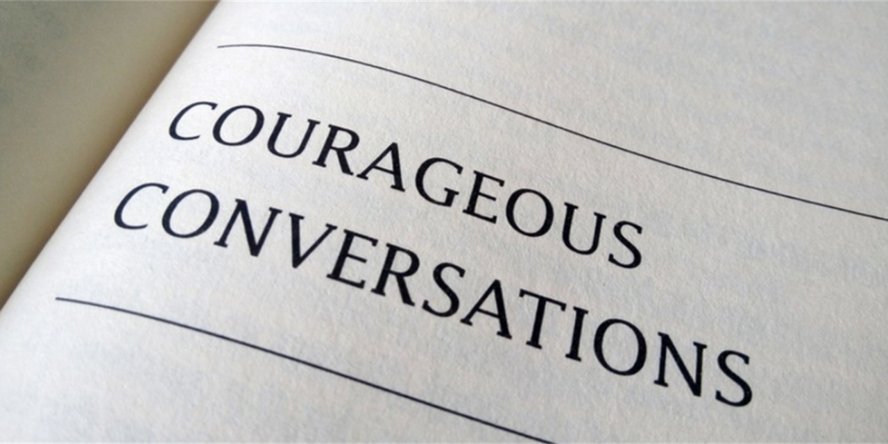 Moving from Difficult to Courageous Conversations | 0.1 LSP Credit Event Logo
