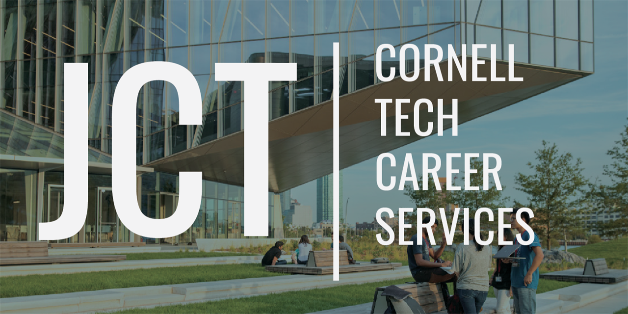 Cornell Tech Career Prep: Networking resources and alumni mock interviews Event Logo