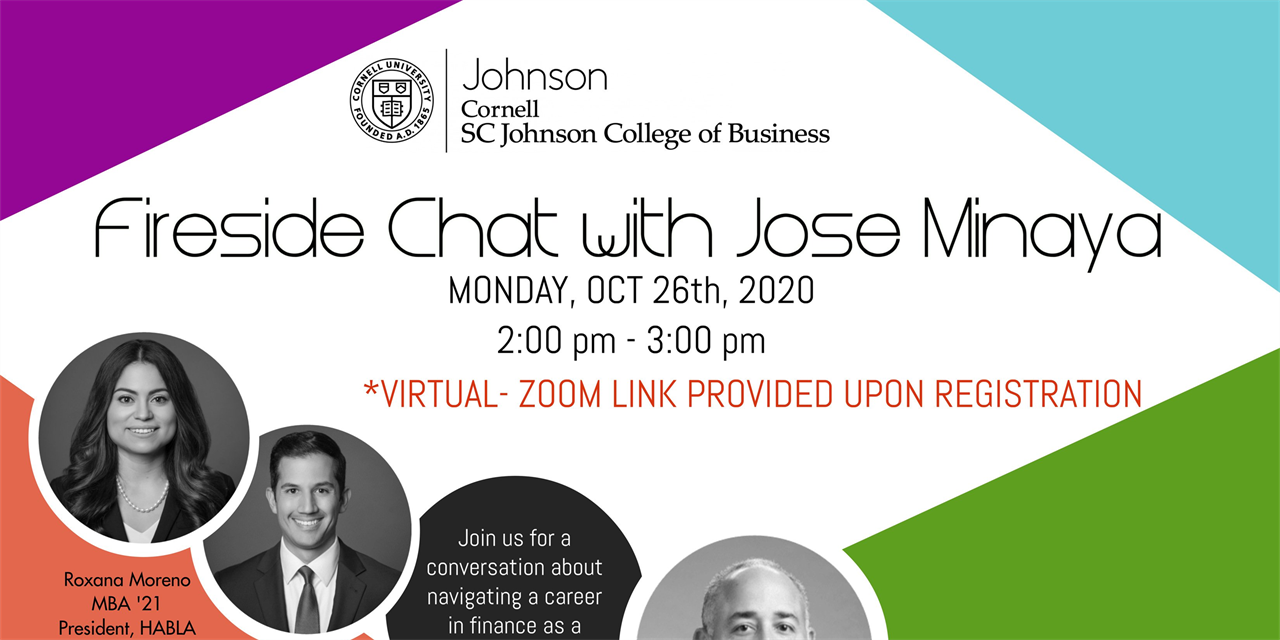 Fireside Chat - Jose Minaya, CEO of Nuveen Event Logo
